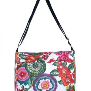 Clare Large Messenger Bag – Anemone