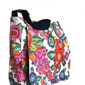 Clare Large Messenger Bag – Anemone
