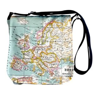 Fiona Small Messenger Bag – Old Map