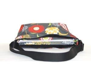 Fely Medium Cross Body Zip Top Bag – Grey Meadow