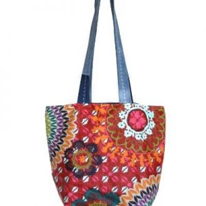 Kate Reversible Beach Bag – Funky Red