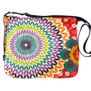Clare Large Messenger Bag – Funky Red