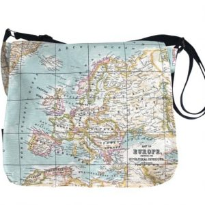 Clare Large Messenger Bag – Old Map