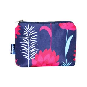 Emma Coin Purse – Blue Meadow