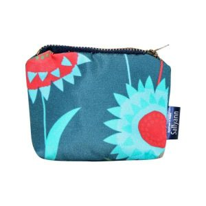 Emma Coin Purse – Green Meadow