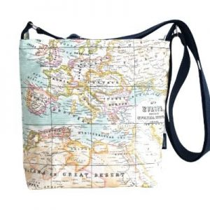 Amy Small Cross Body Zip Top Bag – Old Map