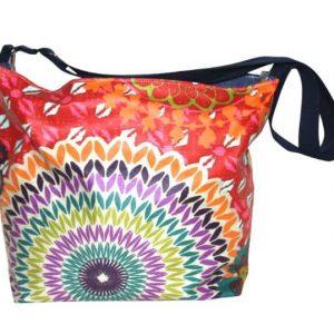 Tara Large Cross Body Bag – Funky Red