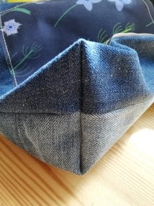 The beauty of recycled denim