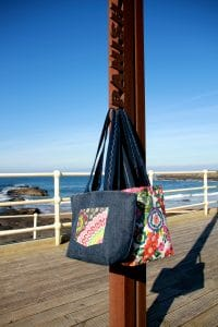 Kate Beach Tote Bags in the Sunshine