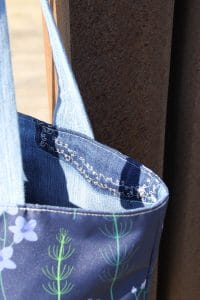 Why and How I use Recycled Jeans to Make my Handbags