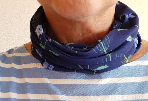 Neckband - Blue Burren