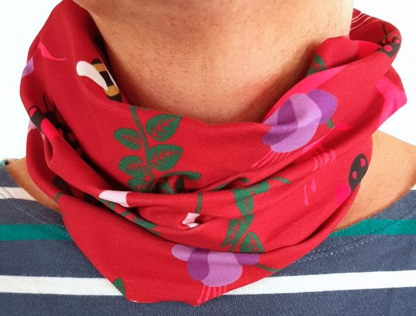 Red Fuchsia Neckband