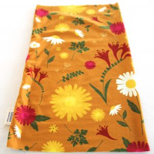 Neckband – Orange Daisy Fabric