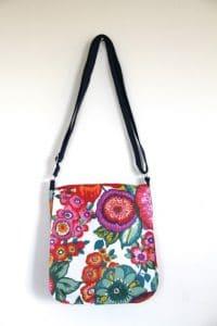 Fiona Small Messenger Handbag in Anemone