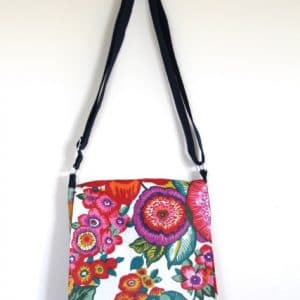 Fiona Small Messenger Bag – Anemone
