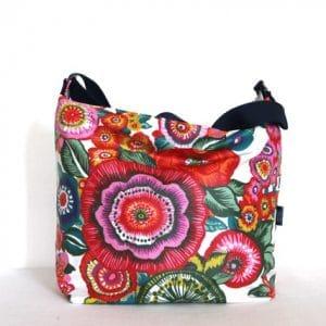Tara Large Zip Top Handbag – Anemone