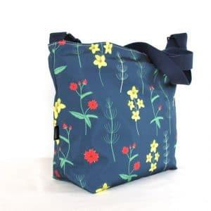 Tara Large Cross Body Bag – Red Burren