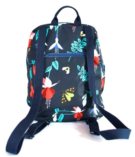 Marie Medium Backpack in Blue Fuchsia