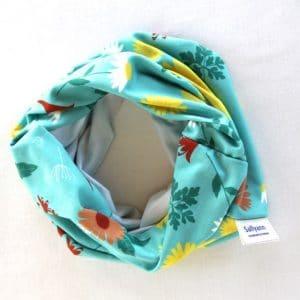 Neckband – Blue Daisy Fabric