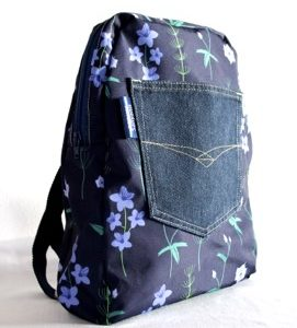 Marie Backpack – Blue Burren