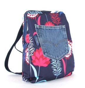 Marie Backpack – Blue Meadow