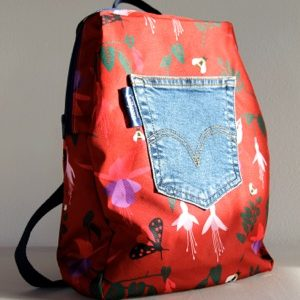 Marie Backpack – Red Fuchsia