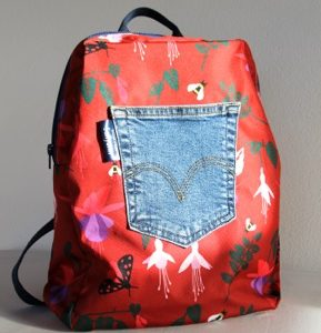 Marie Backpack – Red Fuchsia