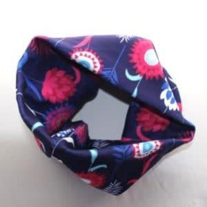 Fleece Neck Warmer – Blue Meadow Fleece Fabric