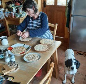 Making Malakoff Torte